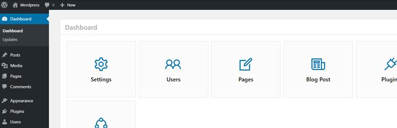 WordPress Admin Dashboard Plugin Banner Image