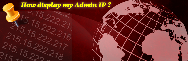 WordPress Admin IP Plugin Banner Image