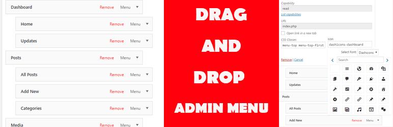 WordPress Admin Menu Plugin Banner Image