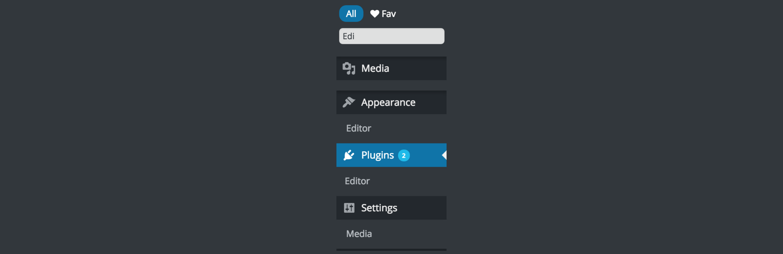 WordPress Admin Menus Accessibility – Quickly Search Admin Menus Plugin Banner Image