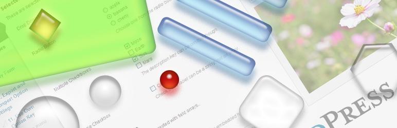 WordPress Admin Page Framework Plugin Banner Image