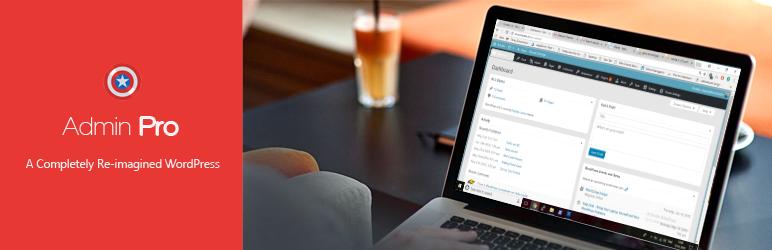WordPress Admin Pro Plugin Banner Image