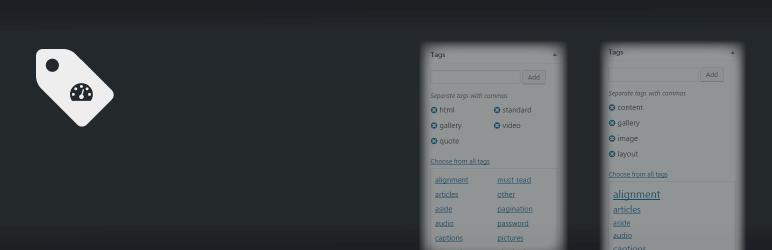 WordPress Admin Tag UI Plugin Banner Image