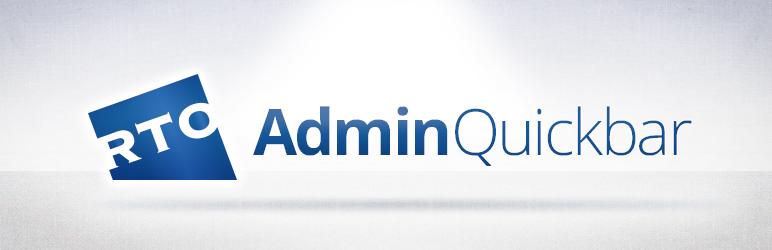WordPress AdminQuickbar Plugin Banner Image