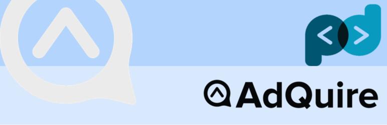 WordPress AdQuire Plugin Banner Image
