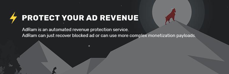 WordPress AdRam Plugin Banner Image