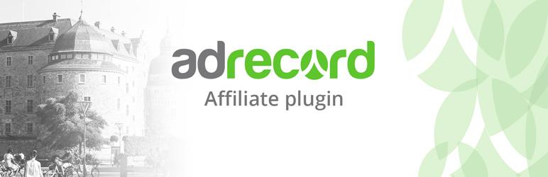 WordPress Adrecord Affiliate Plugin Banner Image