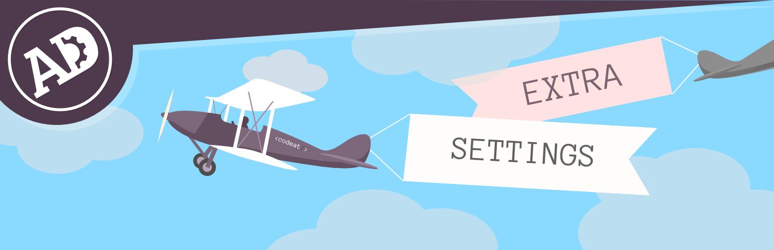 WordPress Adrotate Extra Settings Plugin Banner Image