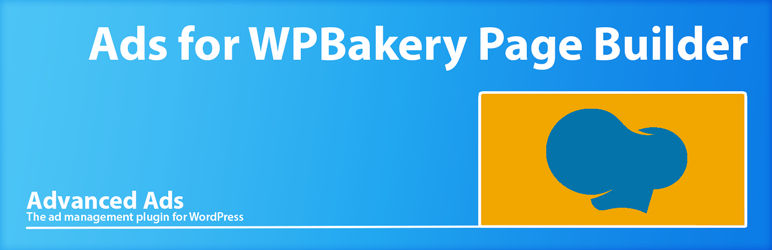 WordPress Advanced Ads for WPBakery Page Builder Plugin Banner Image