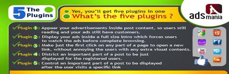 WordPress ADS MANIA Plugin Banner Image