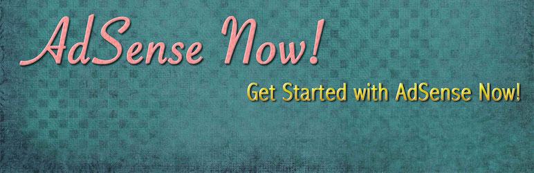 WordPress Now! plugin for AdSense Plugin Banner Image