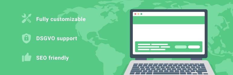 WordPress AdSimple Cookie Notice Plugin Banner Image