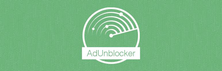 WordPress AdUnblocker Plugin Banner Image
