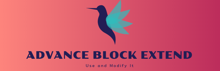WordPress Advance Block Extend Plugin Banner Image