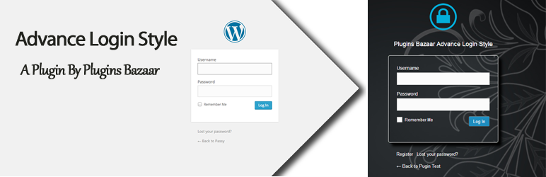 WordPress Advance Login Style Plugin Banner Image
