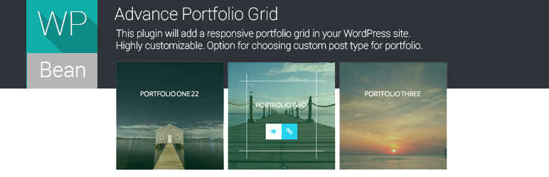 WordPress Advance Portfolio Grid Plugin Banner Image