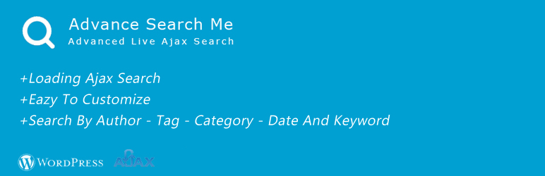 WordPress Advance Ajax Live Search Plugin Banner Image