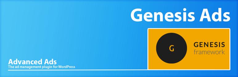 WordPress Genesis Ads by Advanced Ads Plugin Banner Image
