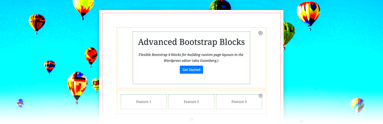 WordPress Advanced Bootstrap Blocks Plugin Banner Image