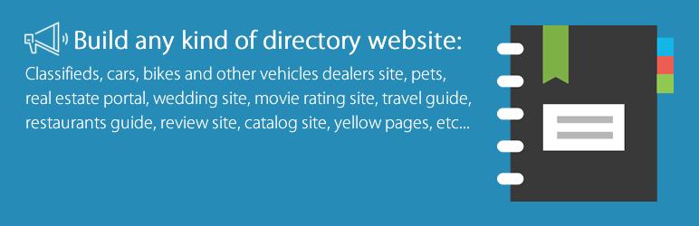 WordPress Advanced Classifieds & Directory Pro Plugin Banner Image