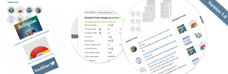 WordPress Related Posts Widget with Thumbnails Plugin Banner Image