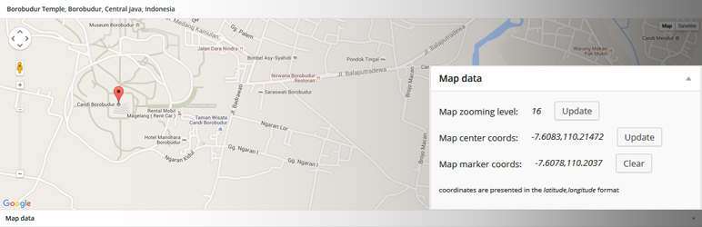 WordPress ACF: Google Map Extended Plugin Banner Image
