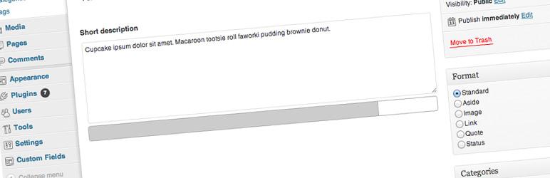 WordPress Advanced Custom Fields: Limiter Field Plugin Banner Image