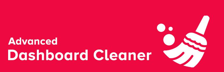 WordPress Advanced Dashboard Cleaner for WordPress Plugin Banner Image
