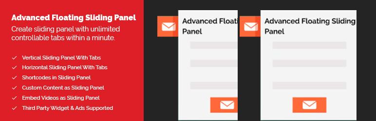 WordPress Advanced Floating Sliding Panel Plugin Banner Image