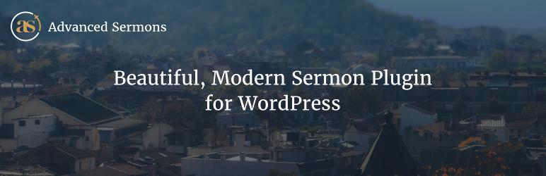 WordPress Advanced Sermons Plugin Banner Image