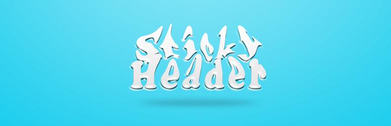 WordPress Advanced Sticky Header Plugin Banner Image