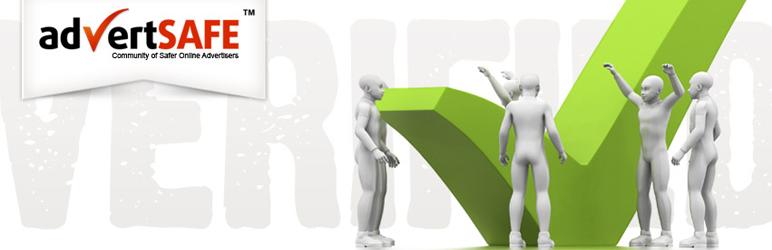 WordPress advertSAFE Site Seal Plugin Banner Image