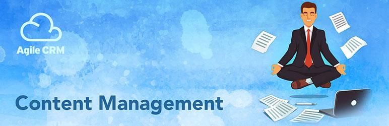 WordPress Agile CRM Content Management Plugin Banner Image