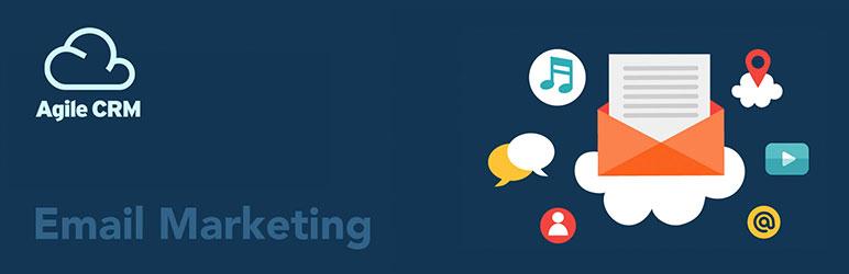 WordPress Agile CRM Email Marketing Plugin Banner Image