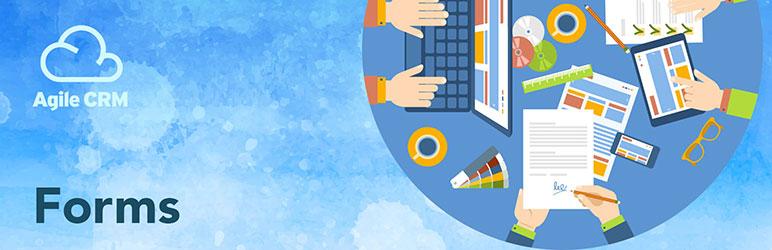 WordPress Agile CRM Forms Plugin Banner Image