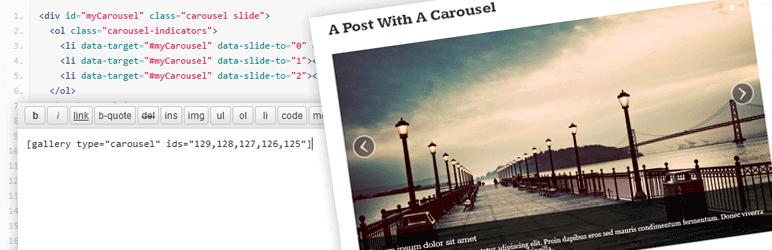 WordPress Agnosia Bootstrap Carousel by AuSoft Plugin Banner Image