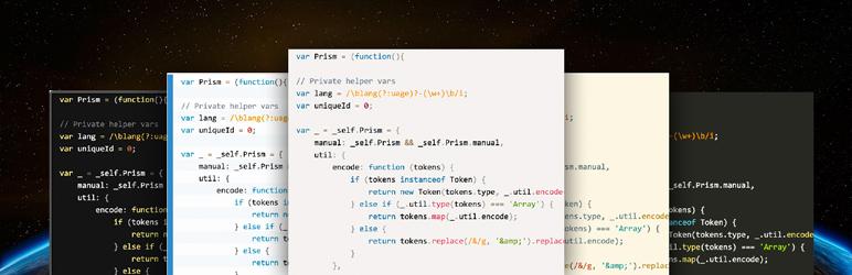 WordPress AH Code Highlighter Plugin Banner Image