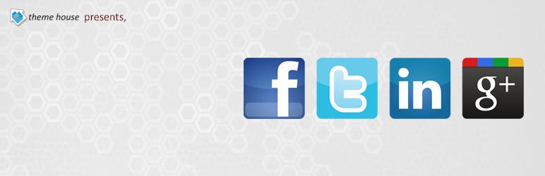 WordPress AH Social share Plugin Banner Image