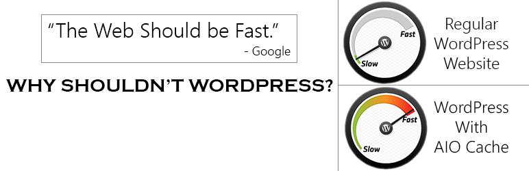 WordPress AIO Cache & Performance Plugin Banner Image