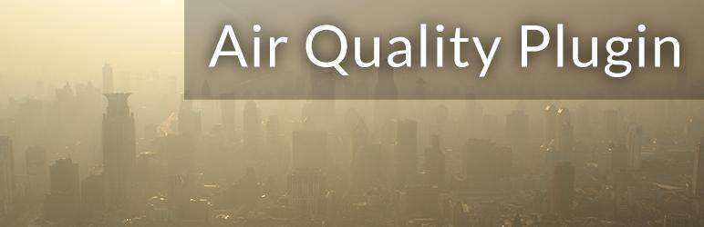 WordPress Air Quality Plugin Plugin Banner Image