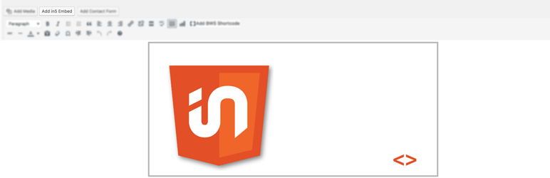 WordPress Ajar in5 Embed Plugin Banner Image