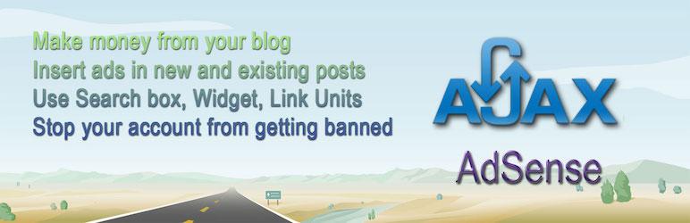 WordPress AJAX Plugin for AdSense Plugin Banner Image