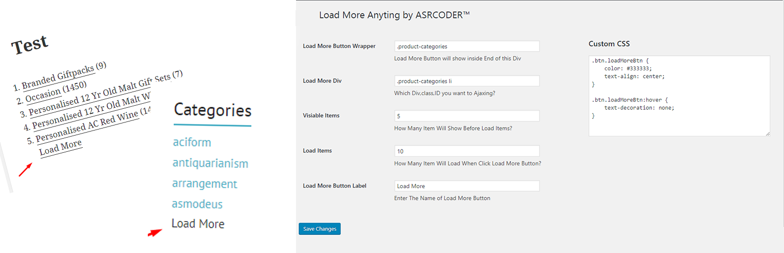 WordPress Load More Anything Plugin Banner Image