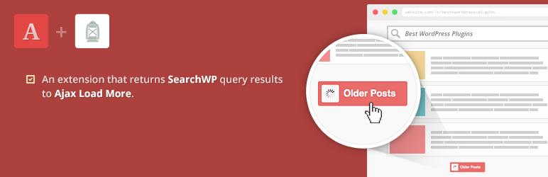 WordPress Ajax Load More for SearchWP Plugin Banner Image