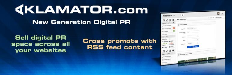 WordPress Aklamator – Digital PR Plugin Banner Image