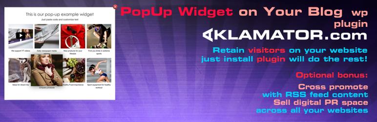 WordPress Aklamator PopUp Plugin Banner Image