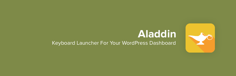 WordPress Aladdin Plugin Banner Image