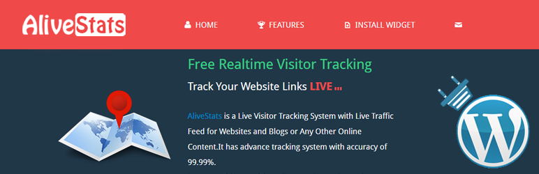WordPress The Ultimate Live Tracker Plugin Banner Image