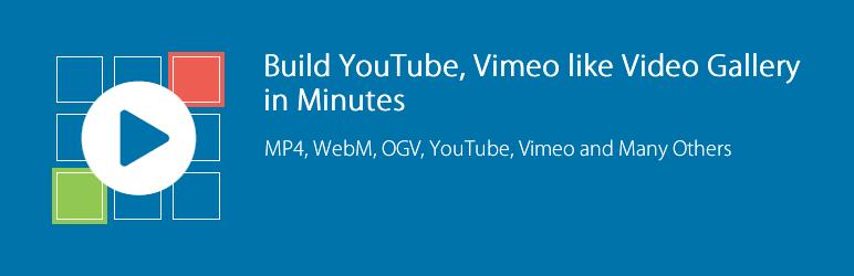 WordPress All-in-One Video Gallery Plugin Banner Image