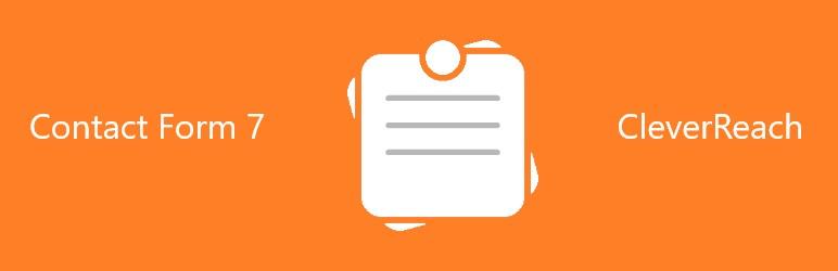 WordPress Contact Form 7 CleverReach Integration Plugin Banner Image